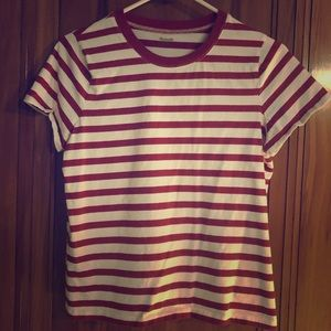 Madewell striped t-shirt excellent condition M
